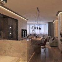 ✔ Проект трехкомнатной квартиры Felicity