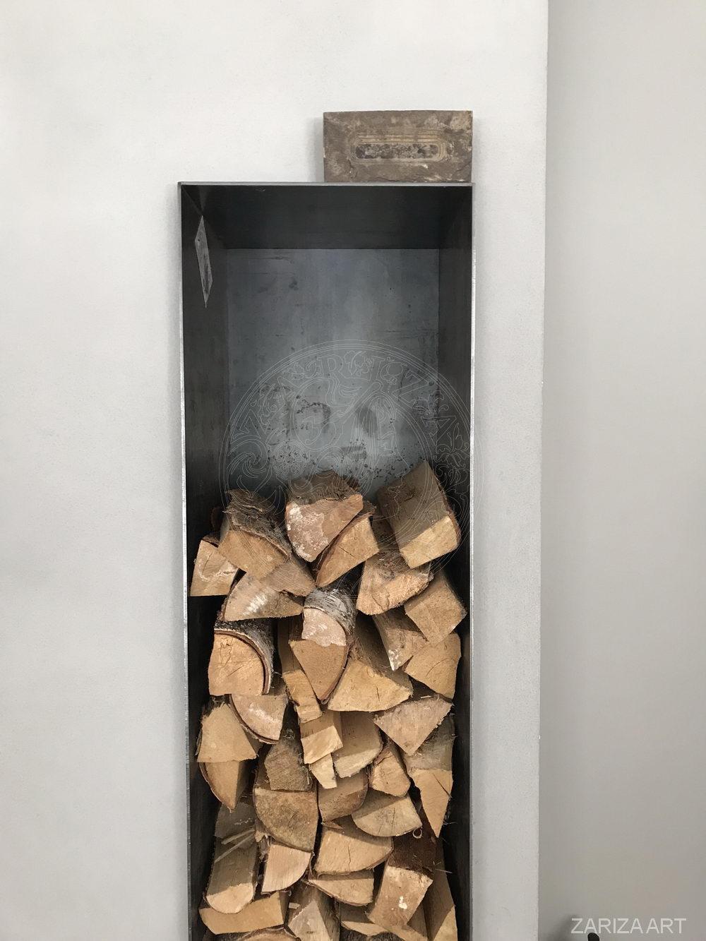 дровница из металла