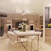 ✔  Дизайн четырехкомнатной квартиры «Бухта радости»