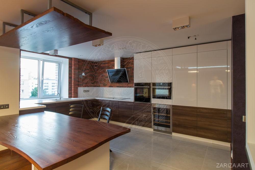 кухонный гарнитур в квартире