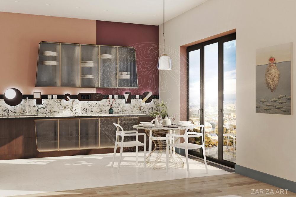 кухонная мебель в квартире