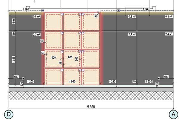 развертка стен дизайн-проекта интерьера