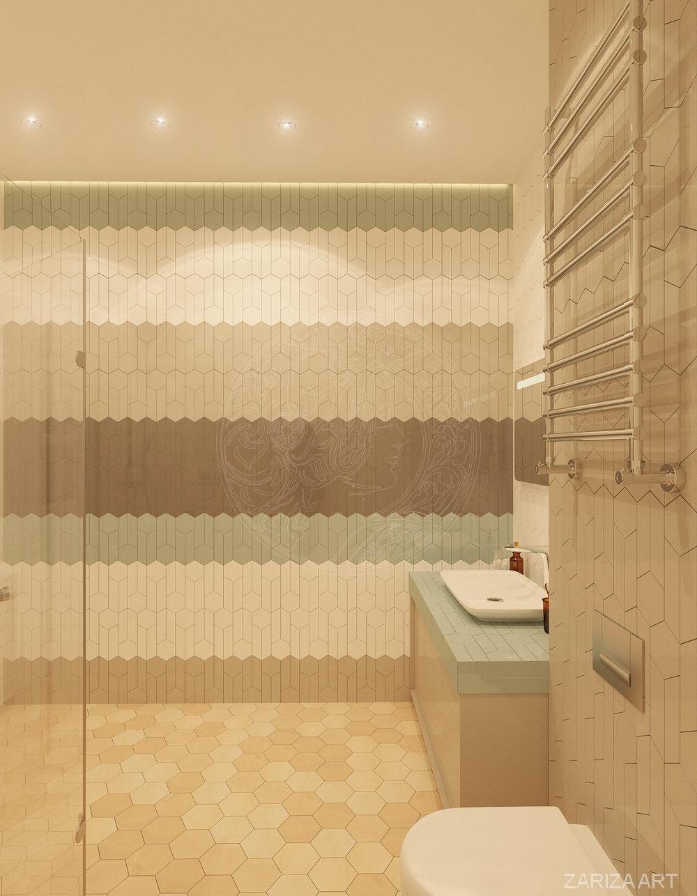 ванная гостевая