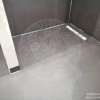 Гидроизоляционные работы в ванной комнате — объект Ванильные Лебеди