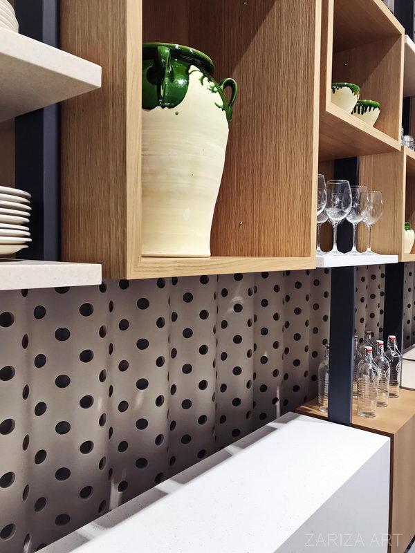 Krion в качестве декоративной части мебели