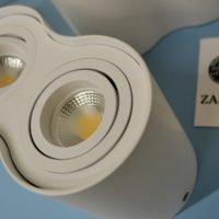 Накладные светильники для объекта Mirage