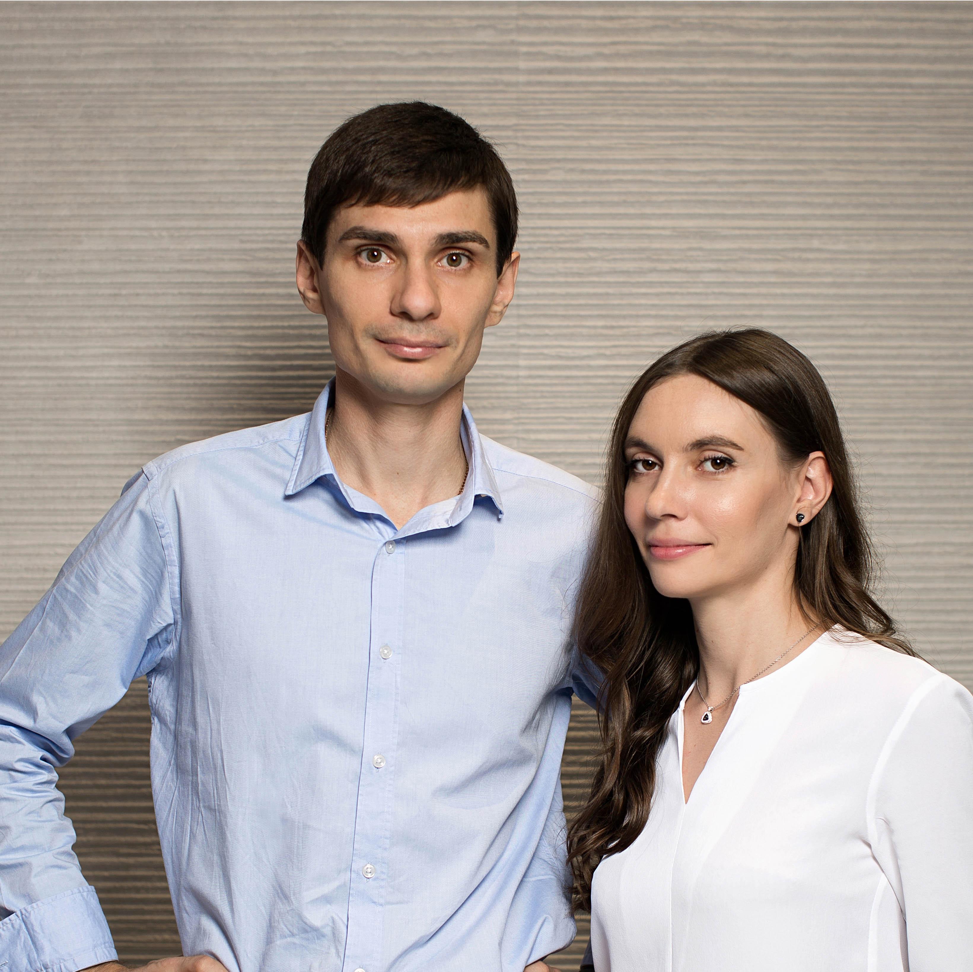 дизайнеры интерьера Сергей и Ася