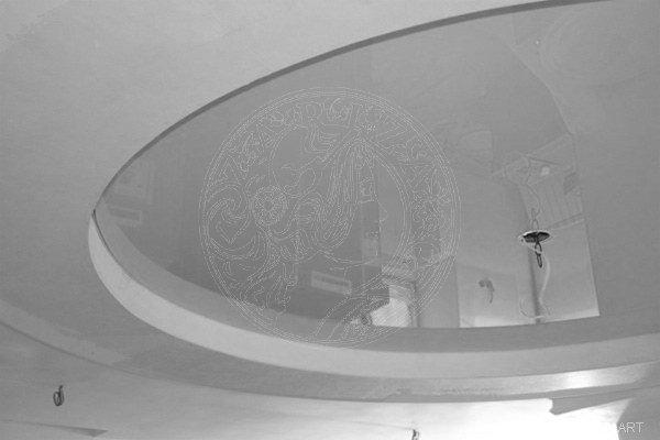 потолок круглый