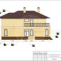 Оформление фасадов частного дома и благоустройство участка «Nega»