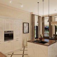 Проект интерьера дома «Nega»