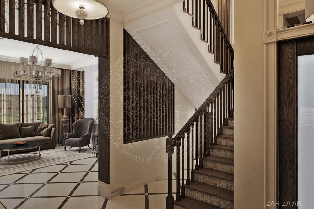 лестница 1 этаж