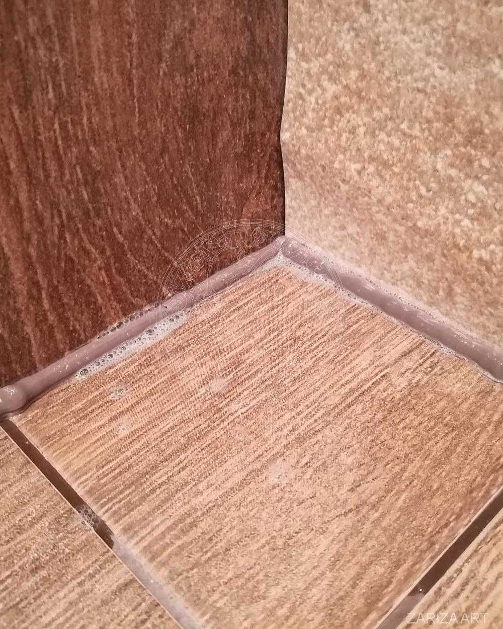 фото шва силикона у плитки