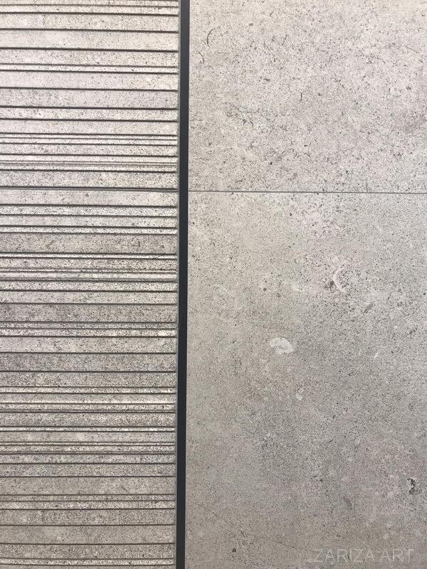 фрагмент плитки и профиль под плитку