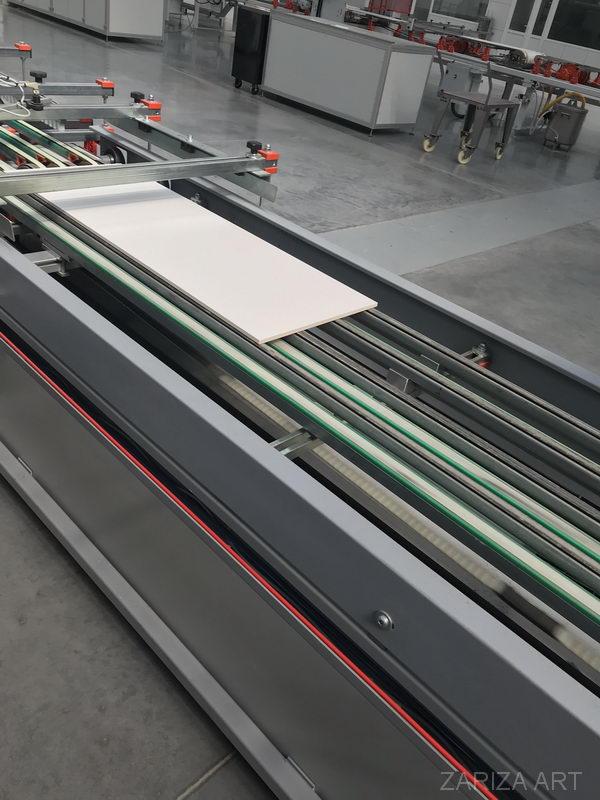 линия производства плитки porcelanosa