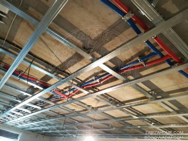 электрика и потолок