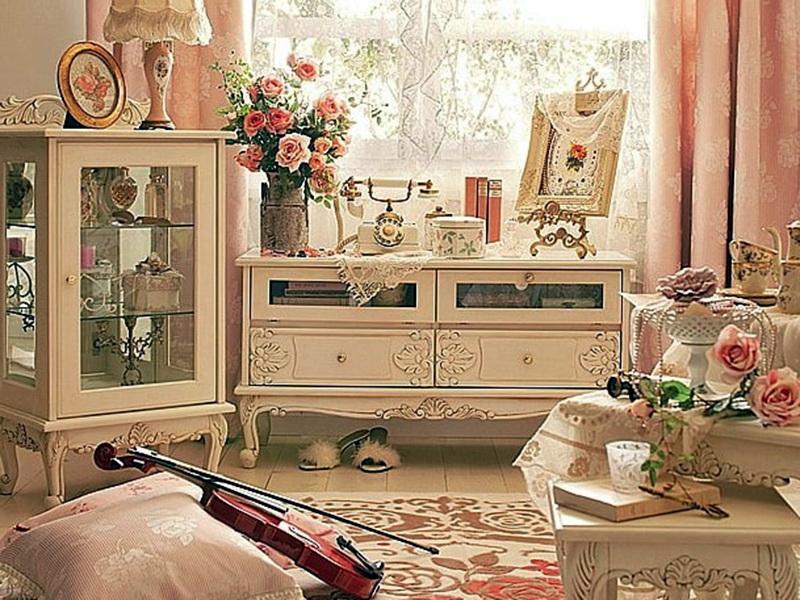 романтическая обстановка в розовых тонах