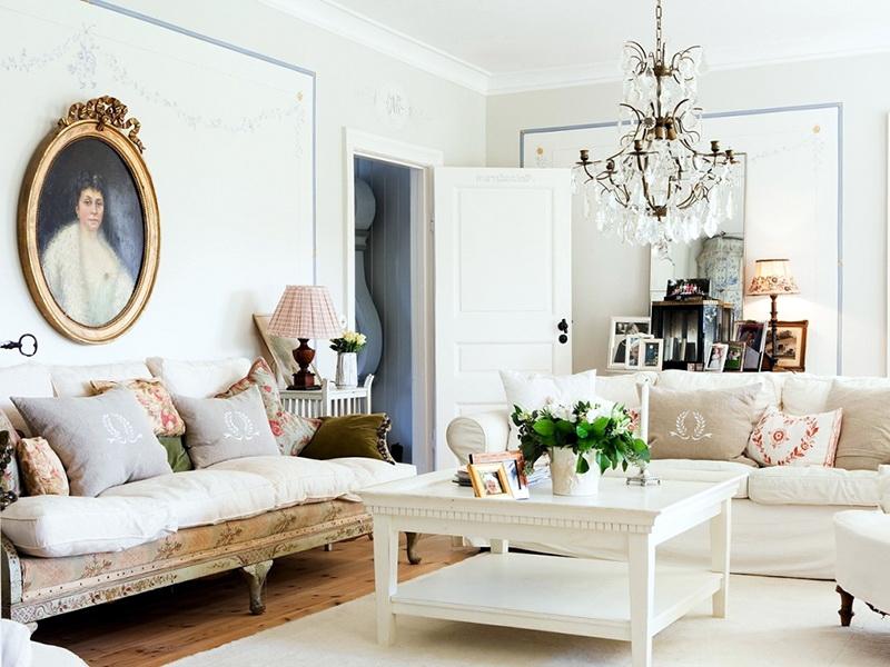 интерьер светлой комнаты