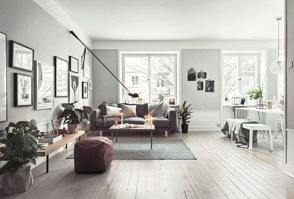 квартира с просторной гостиной