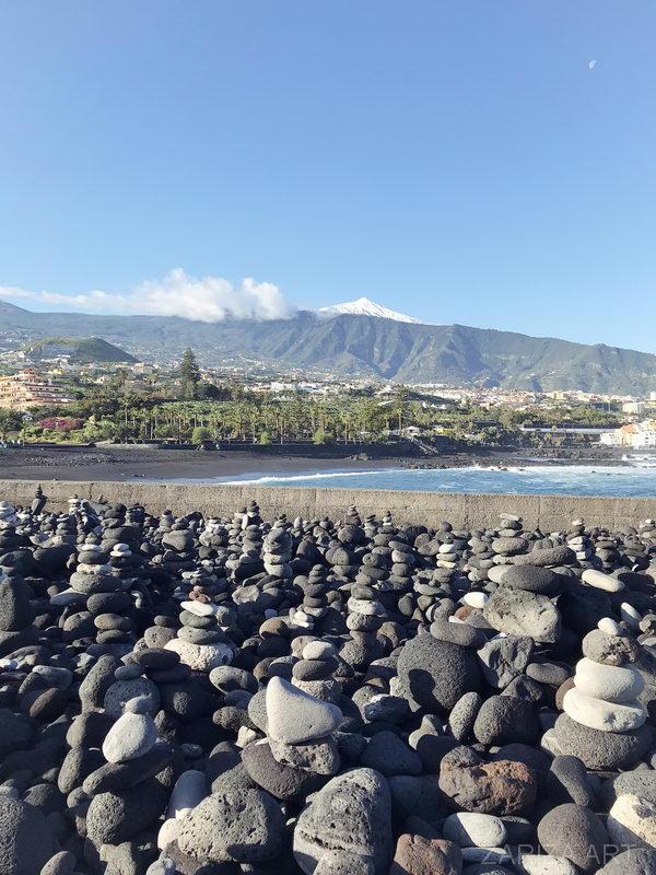 вулкан тейде вид с моря