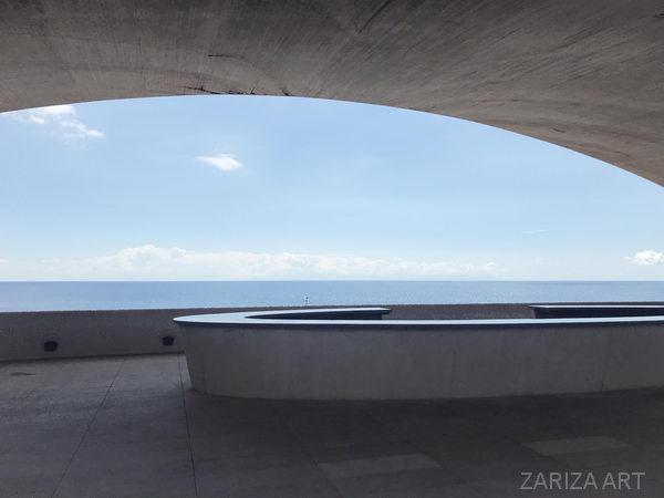 Аудиторио-де-Тенерифе вид на море