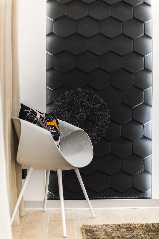 кресло и стена 3Д