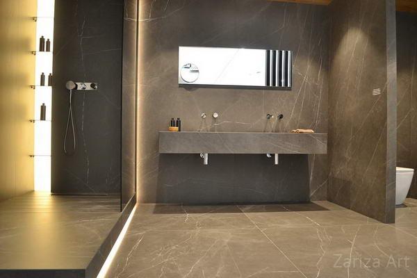 ванная бетон