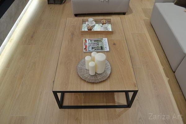 стол на полу