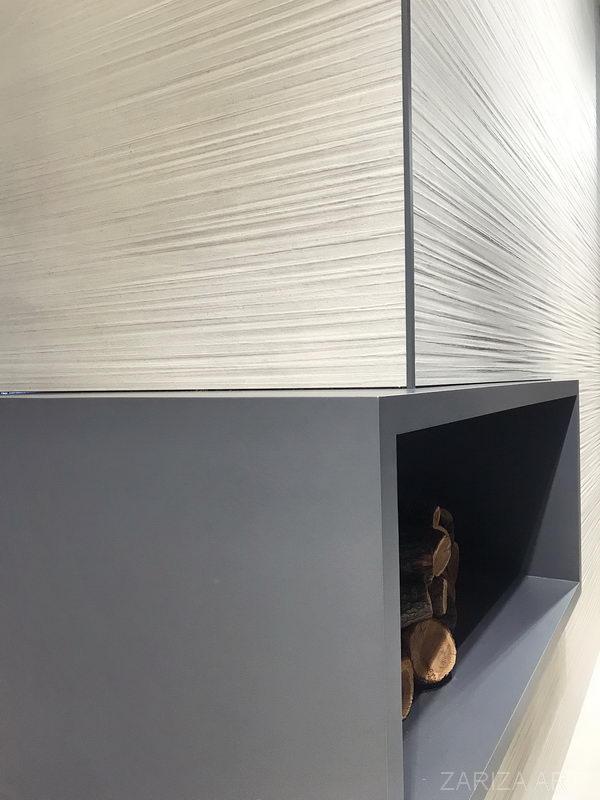 камин и облицовка керамической плиткой