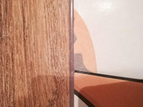 Как правильно затирать внутренние углы сопряжение плитки?