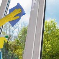 Как очистить пластиковые окна после ремонта?