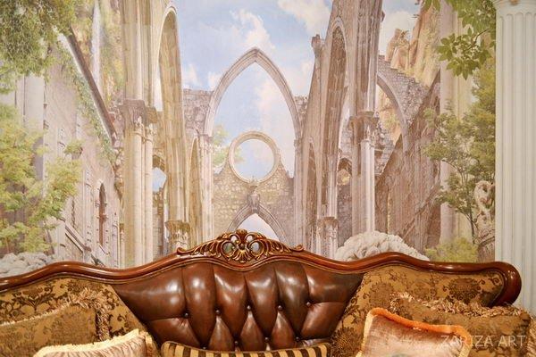 диван в классическом интерьере