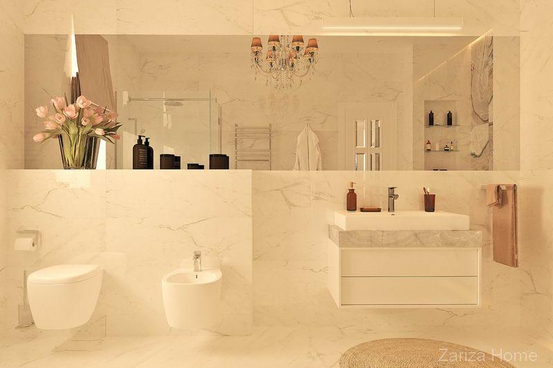 интерьер классической ванной