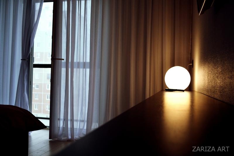 светильник на столешнице