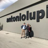 Посещение фабрики премиальной сантехники ANTONIOLUPI, Италия, Стабия