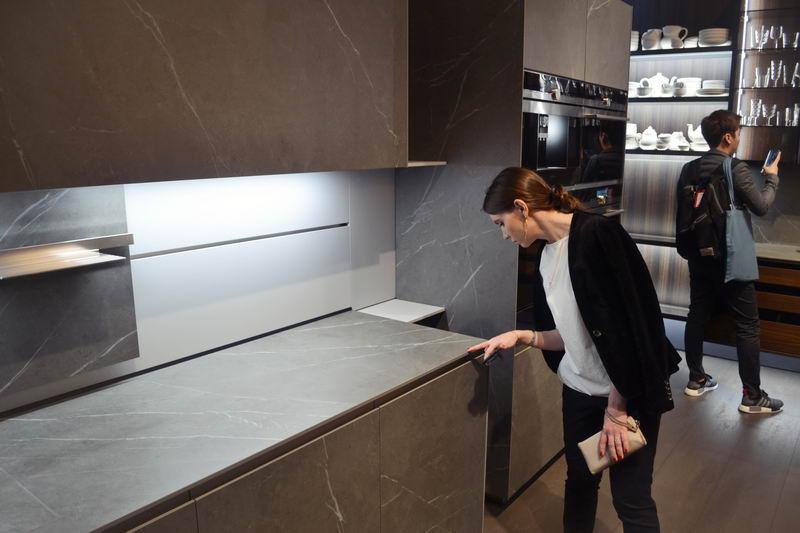 кухни на выставке в милане