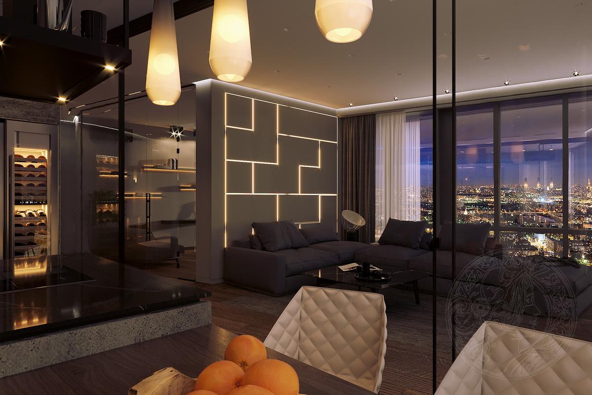 Проект квартиры Minimal | ноябрь 2019