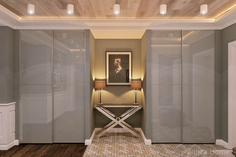 дизайн холла, коридора