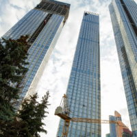 Начало работы над проектом в Capital Towers, 220 кв.м., Краснопресненская набережная (апрель 2021)
