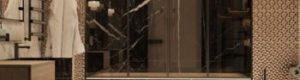 плитка под мрамор в санузле