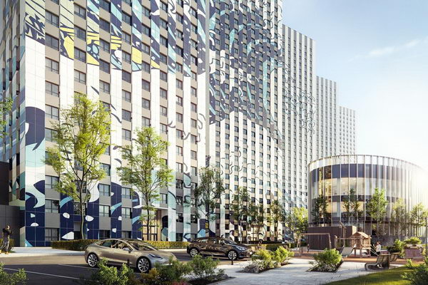 ЖК Эталон-Сити фасады, инфраструктура