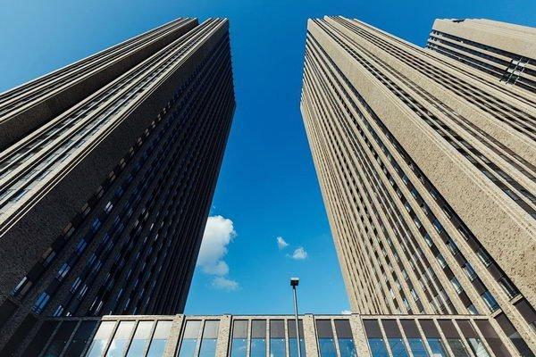 многоэтажные дома - новостройка в Москве
